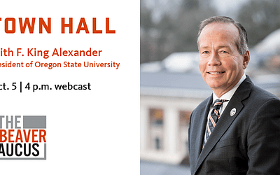 Watch the Town Hall with President Alexander